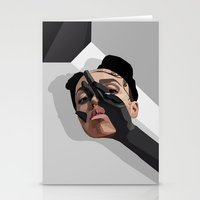 fka twigs Stationery Cards featuring FKA Twigs: M3LL155X by akin