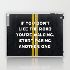 Pave Another Road Laptop & iPad Skin