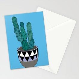 Cactus Art03 Pot#1 Stationery Cards