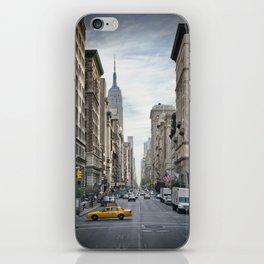NEW YORK CITY 5th Avenue iPhone Skin
