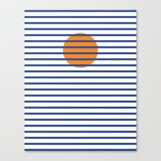 Sunshine Sea Canvas Print