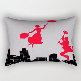 Mary Poppins squares Rectangular Pillow