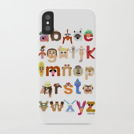 The Great Muppet Alphabet (the sequel) iPhone Case