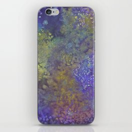 Abstract Watercolor #3 iPhone Skin