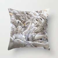 angels Throw Pillows featuring Angels by Photographicleigh