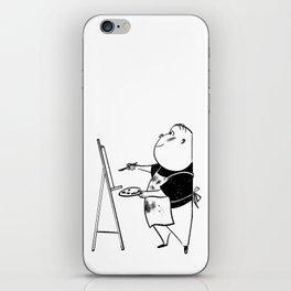 The Artist iPhone Skin