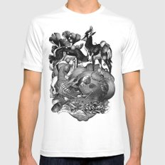 The Death of Nature Mens Fitted Tee White MEDIUM
