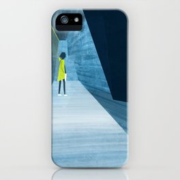 Inside the silver string piano iPhone Case
