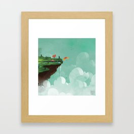 Edge of the World Framed Art Print