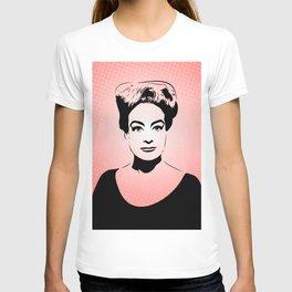Joan Crawford | Hollywood Royalty | Pop Art T-shirt
