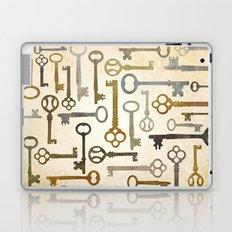 Vintage Keys Laptop & iPad Skin