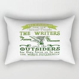 Writers, Artists, Dreamers Rectangular Pillow