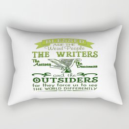 Writers, Artists, Dreamers Rectangular Pillow