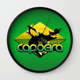 Capoeira Wall Clock