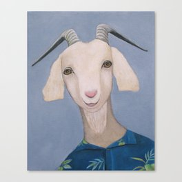 Year of the Goat Canvas Print