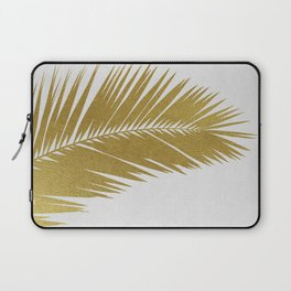 Palm Leaf Gold I Laptop Sleeve