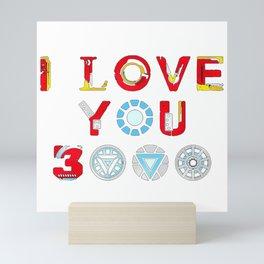 I Love You 3000 v3 Mini Art Print