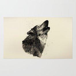 Wolf Ink Rug