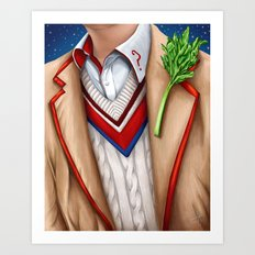 The Fifth Doctor Art Print