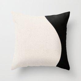 Curves Throw Pillow