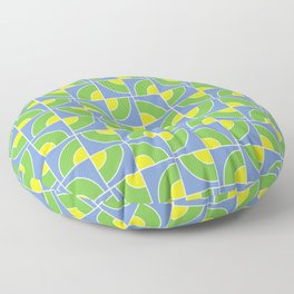 Leon Lime Candy Pattern Floor Pillow