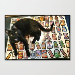 HerBee Wacky packs Canvas Print
