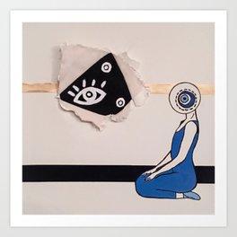 i spy with my evil eye Art Print