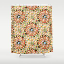 Gypsy Caravan Mandala Shower Curtain