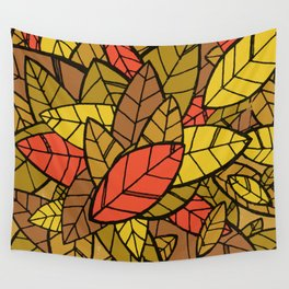 Autumn Memories (a pile of leaves) Wall Tapestry