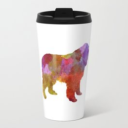 Newfoundland in watercolor Travel Mug