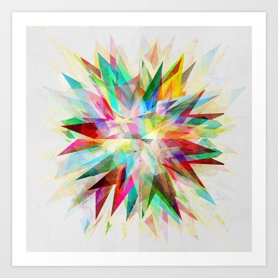 Colorful 6 Art Print