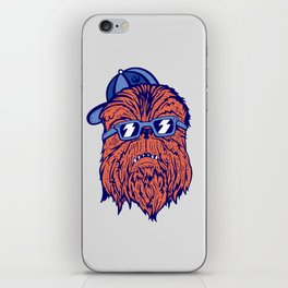 Chewie Dude iPhone Skin