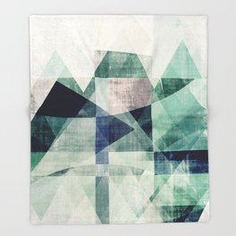 art, wall art, home decor, abstract prints, large prints, abstract print, geometric wall art, modern Throw Blanket