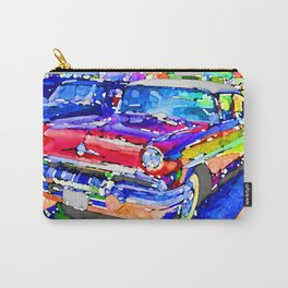 American classic car 12 Carry-All Pouch