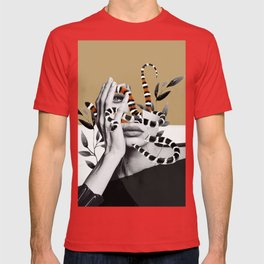 Woman and snakes T-shirt