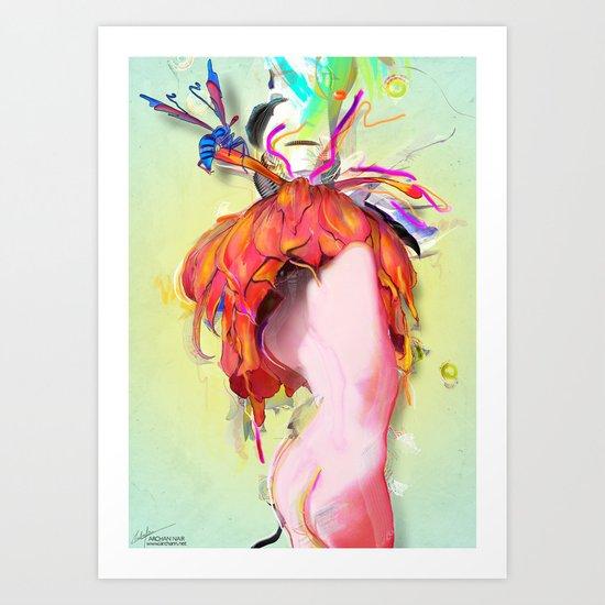 Miere Art Print