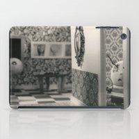 tim burton iPad Cases featuring Hanging a painting fail - tim burton by PaperTigress