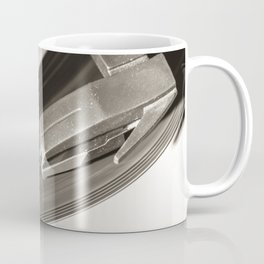 Music From a Vintage 45 RPM Record Playing on a Turntable 3 Coffee Mug