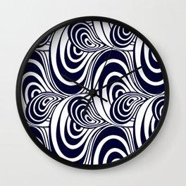 "Koloman (Kolo) Moser ""Textile pattern (Swirls)"" (1) Wall Clock"