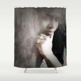 Sharri Plaza Shower Curtain