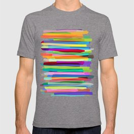 Colorful Stripes 1 T-shirt