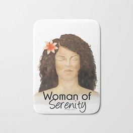 Woman of Serenity Bath Mat