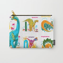Alphasaurus Rex Carry-All Pouch