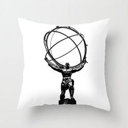 Atlas Throw Pillow