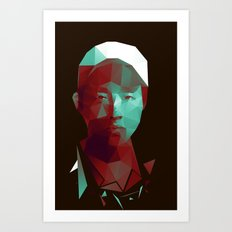 Glenn - The Walking Dead Art Print