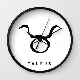 KIROVAIR ASTROLOGICAL SIGNS TAURUS #astrology #kirovair #symbol #minimalism #horoscope #stier #home Wall Clock