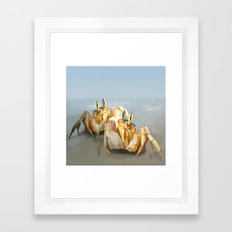 Two Pairs of Eyes Framed Art Print