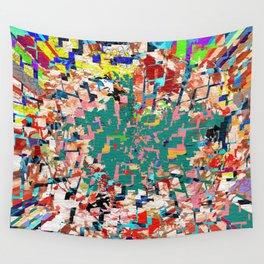 Scrap Paper Wall Tapestry