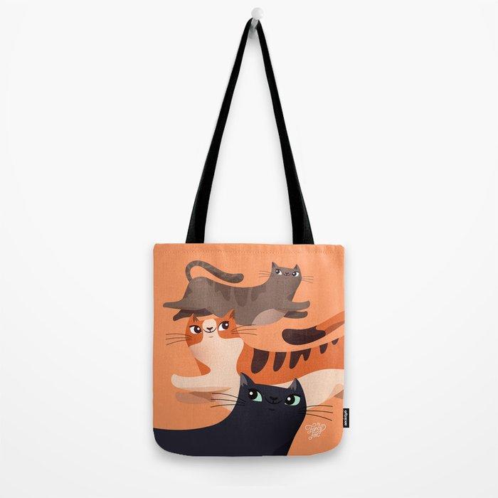Jumping Cats 2.0 Tote Bag