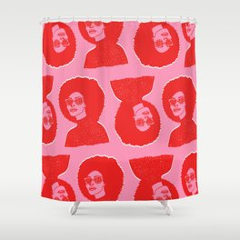 Kara Pattern Shower Curtain